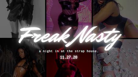 Freak Nasty - Nov 27th Performer List