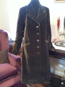 Velvet coat