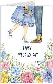 Листівка. Happy Wedding Day