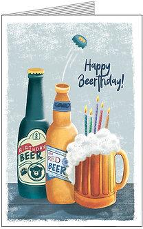 Листівка. Happy Beerthday!