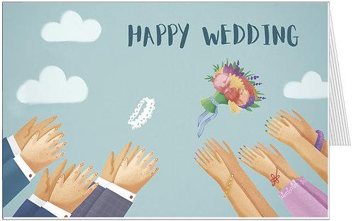 весільні листівки, весільні атрибути