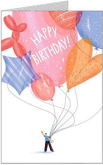 Листівка. Happy Birthday!