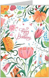 Листівка.Happy Birthday!