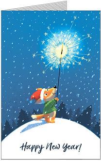 Листівка. Happy New Year!