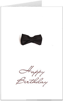 листівка з днем народження, елегантна, стильна бабочка, кроватка
