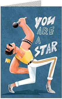 Листівка. You are a STAR