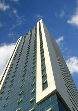 Al Jazeera Tower - down to up