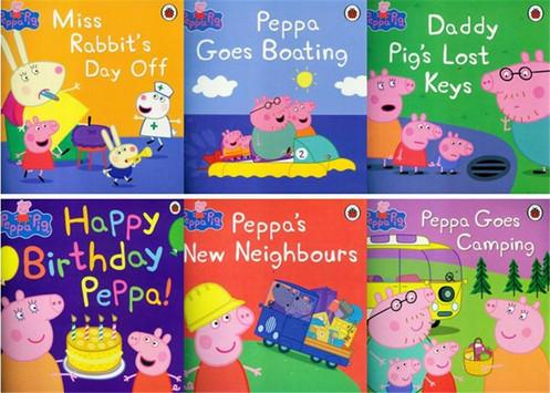 Peppa Pig Friends Books