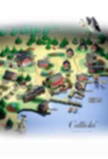 Calliolan aluekartta