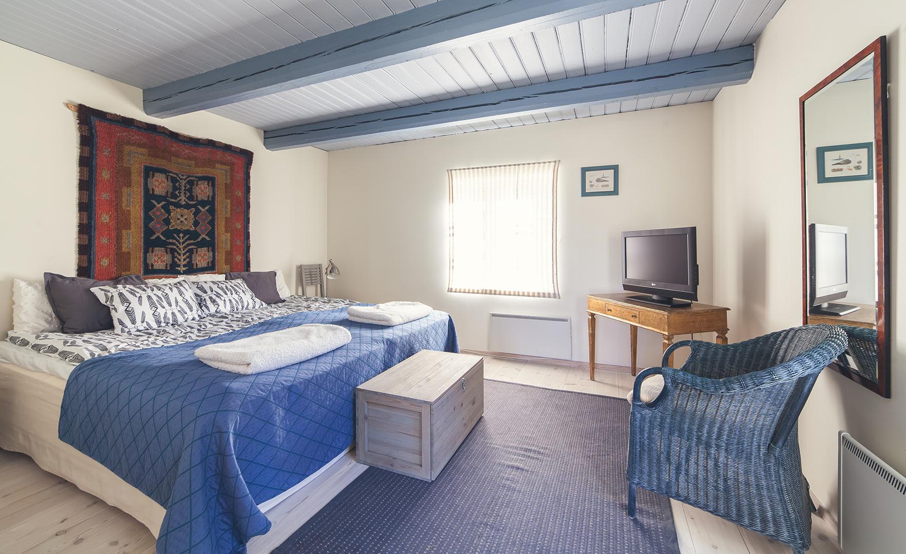 Villa Saariston makuuhuone