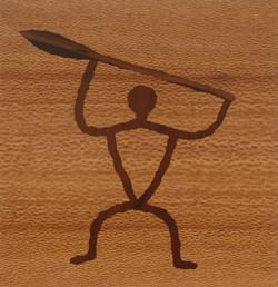 Petroglyph Paddler