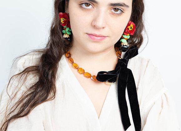 Forest  fruit earrings