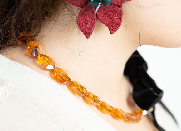 Forest earrings  Bordeaux