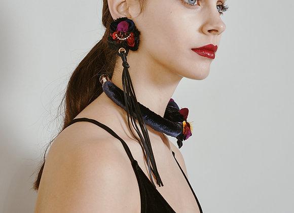violet earing (single)