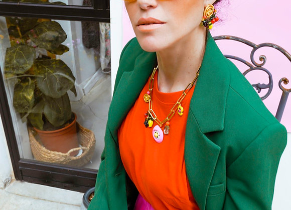 Summer Fruit Earrings