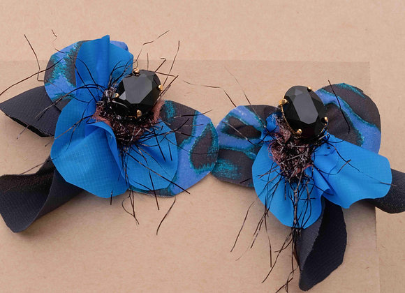Blue forest butterfly