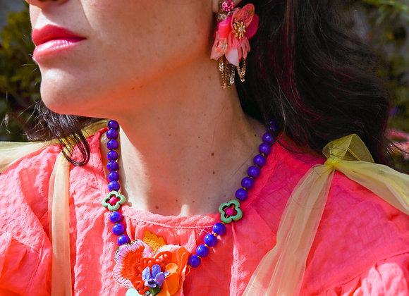 Carnation Earrings (Pink)