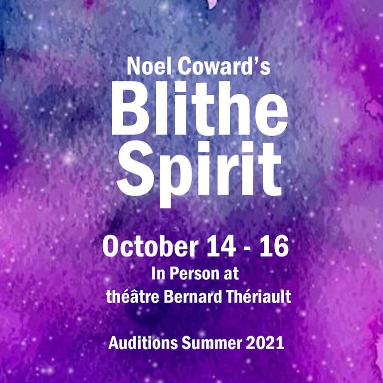 Blithe Spirit Auditions