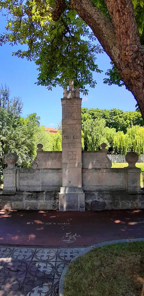 Hito cidiano en la glera (Burgos)