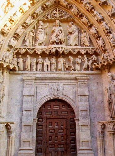 Puerta de Coronería de la Catedral de Burgos