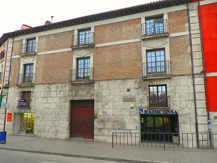 Parador del Consulado en la Plaza de Vega (Burgos)