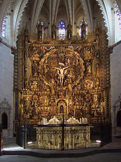 Retablo Mayor de la Cartuja de Miraflores (Burgos)