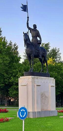 Estatua de Diego Porcelos (Burgos)