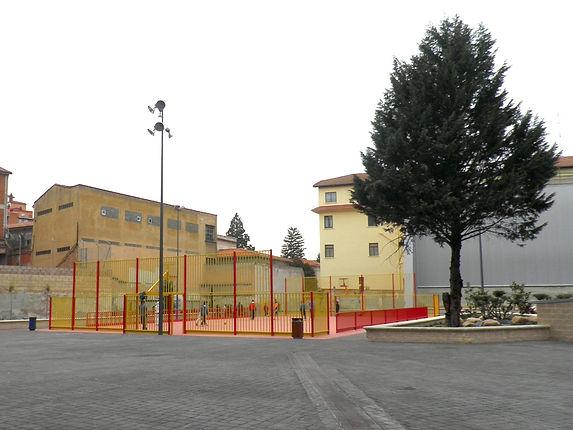 Antiguo patio del colegio de Maristas (Burgos)