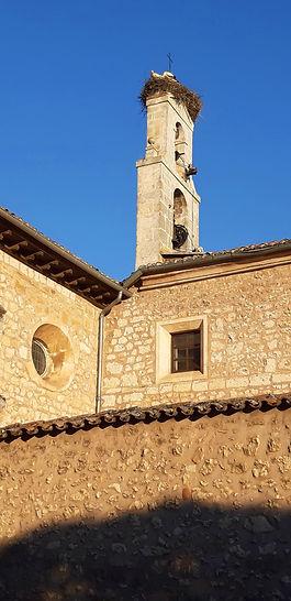Espadaña del Convento de Santa Clara