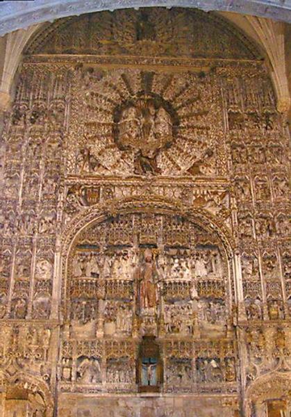 Retablo de la Iglesia de San Nicolás (Burgos)