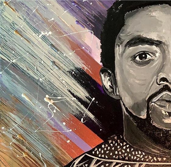 Chadwick Boseman - Wakanda Forever