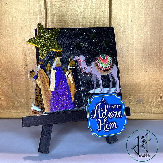 """""""Three Kings"""" Nativity"""