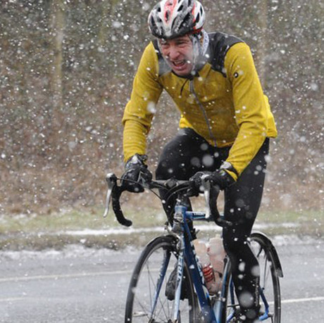 Cycling in snow and ice: how to stay safe and have fun