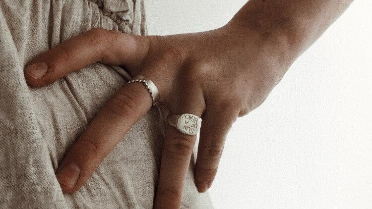 Ocean crown Ring