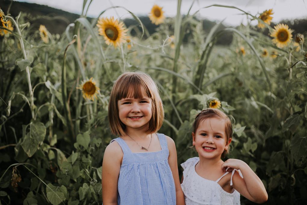 Aria & Peyton {Sunflower Babies}