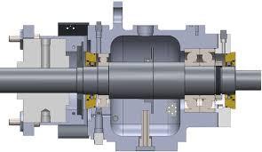 PumpWorks PWH OH2 API Pump With Isomag Bearing Isolators