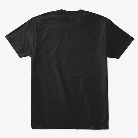 'JD' Tshirt Black Back