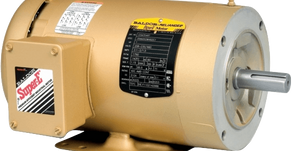 Oil Mist Sealed On Baldor Electric Motor With Isomag Bearing Isolators