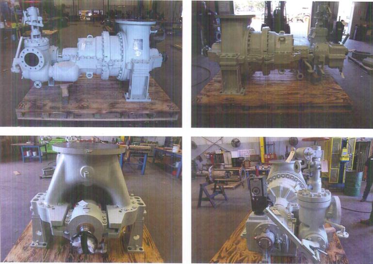 Turbodyne Steam Turbine