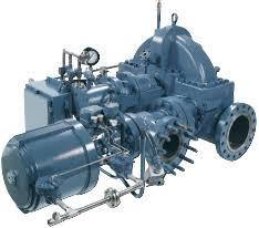 Coppus RLHA 24 Steam Turbine