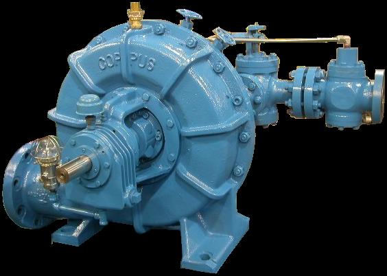 Coppus RLA-20L Steam Turbine