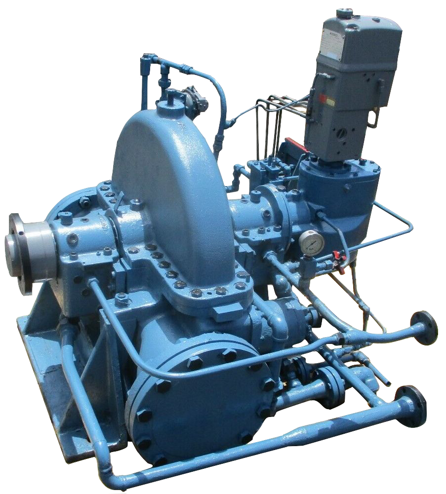 Elliot CE 150 Steam Turbine