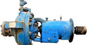 Isomag Magnetic Face Seals Stop Stray Oil Mist On Goulds API Pump