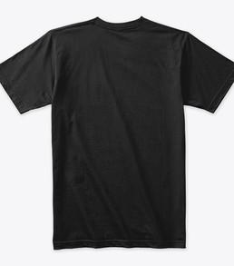 'Me' Black Tshirt Back