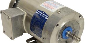 Isomag Magnetic Seals Protect Baldor Stainless Motors During Washdown