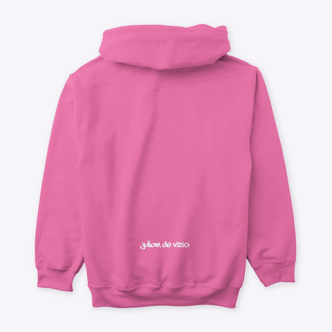 'Me' Pink Hoodie Back