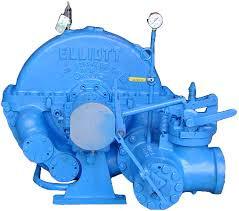 Elliott CYR Steam Turbine
