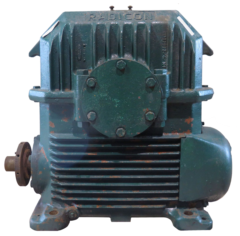 Radicon Model D Worm Gearbox