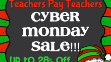 Cyber Monday Teachers Pay Teachers