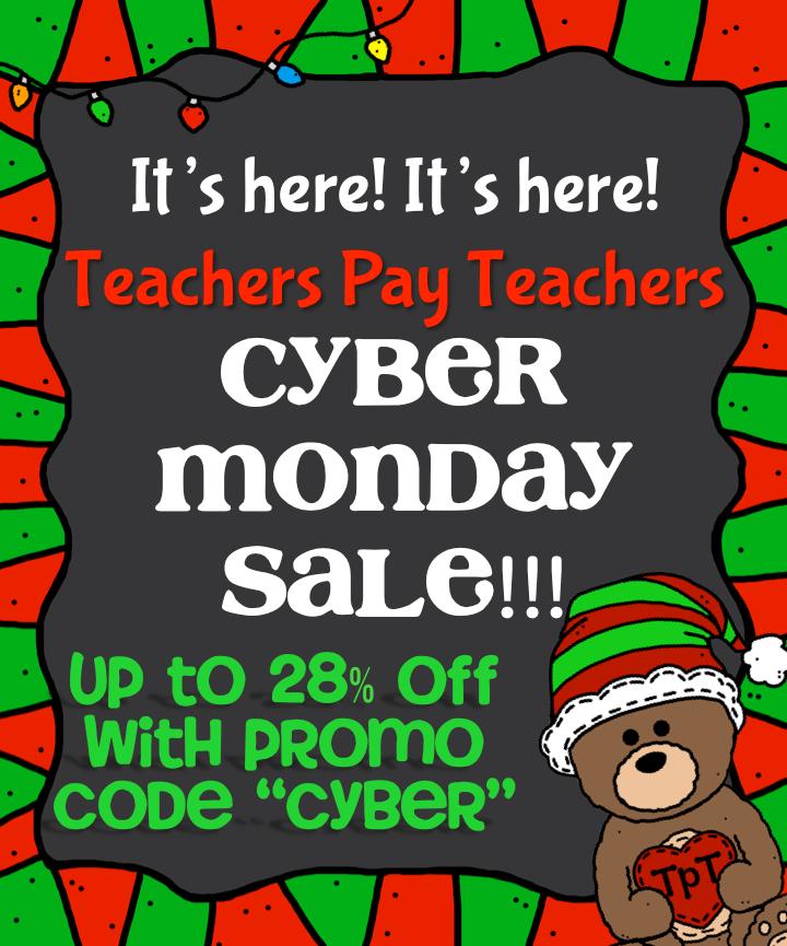 Cyber Monday Teachers Pay Teachers